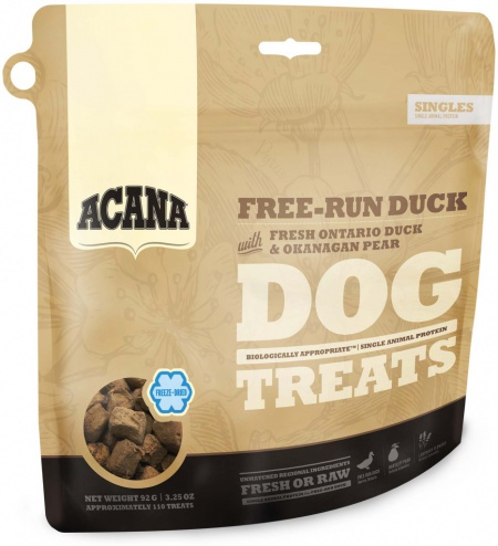 Acana Free-run duck Singles treat