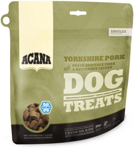 Acana Yorkshire pork Singles treat