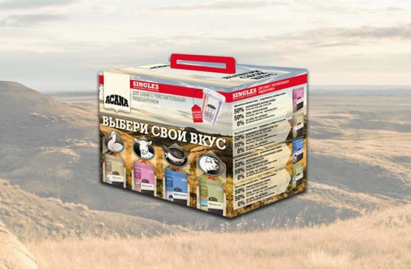 Подарочный набор Acana для собак с чувствительным пищеварением