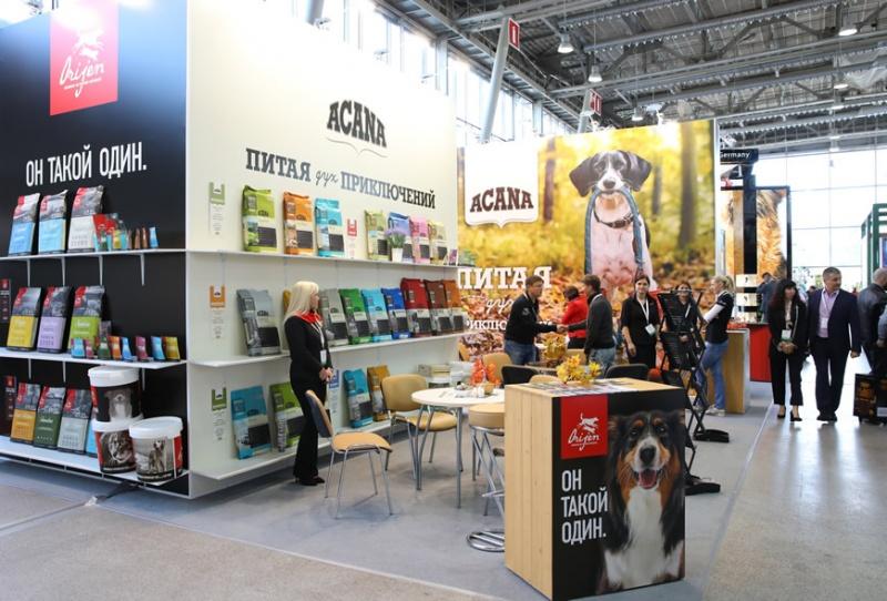 Компания АКАНА на выставке зооиндустрии ПаркЗоо 2019