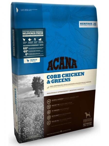 Acana Heritage Cobb Chicken & Greens Dog