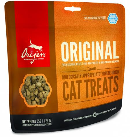 Лакомство для кошек Orijen Original Cat Treat